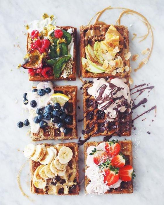 waflfles para desayuno