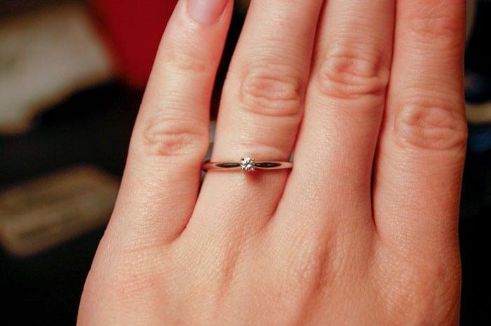 no le gustó su anillo