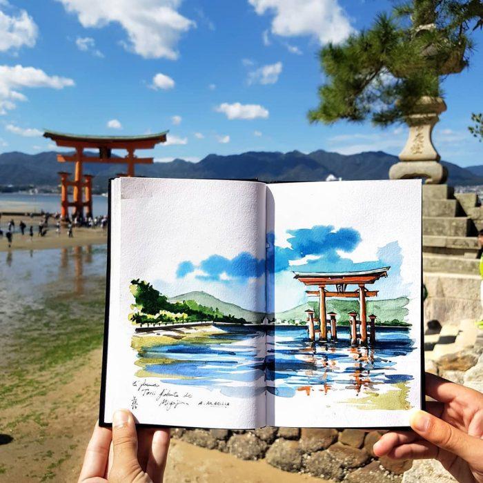 Santuario de Itsukushima, Japón