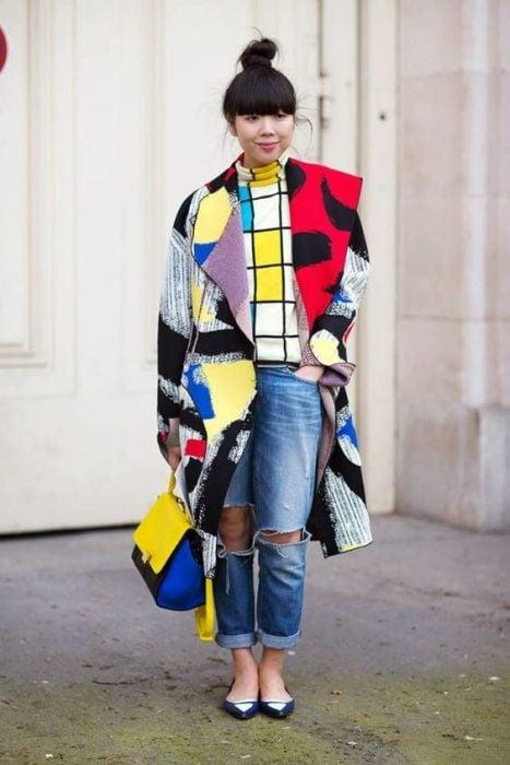 abrigo de diseño único