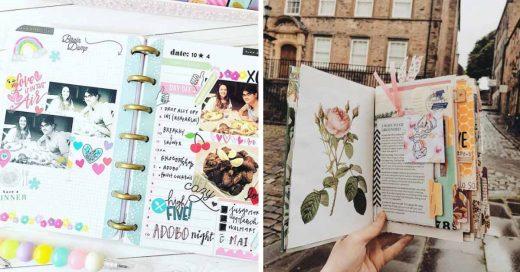 Cover ideas para tener diarios y agendas más bonitas