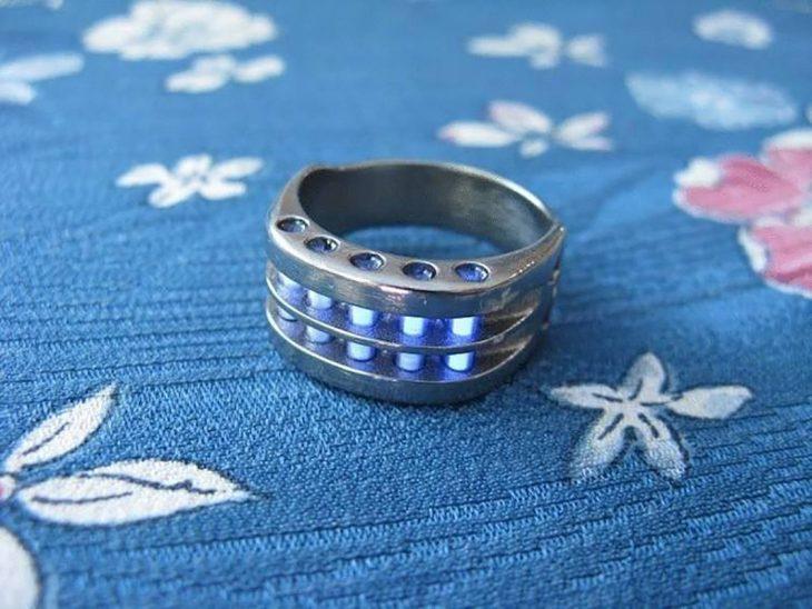 anillo radiactivo