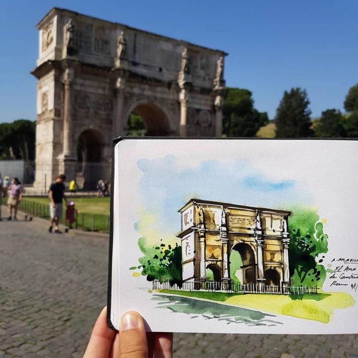 Arco del Triunfo, Roma
