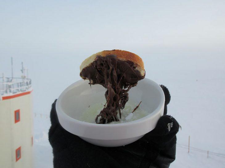 pan con carne congelado