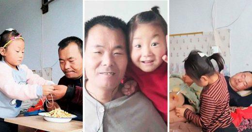 Cover Niña de 6 años cuida de su padre con el cuerpo paralizado luego de que su madre los abandonara