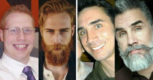 Cover Asombrosas transformaciones de hombres que se dejaron crecer la barba