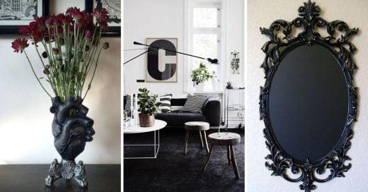 Cover Artículos de color negros que necesitas para decorar tu hogar