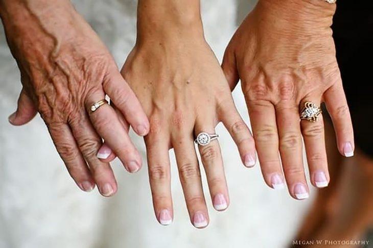 foto de Tres generaciones de matrimonios