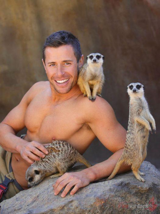 bombero y suricatas