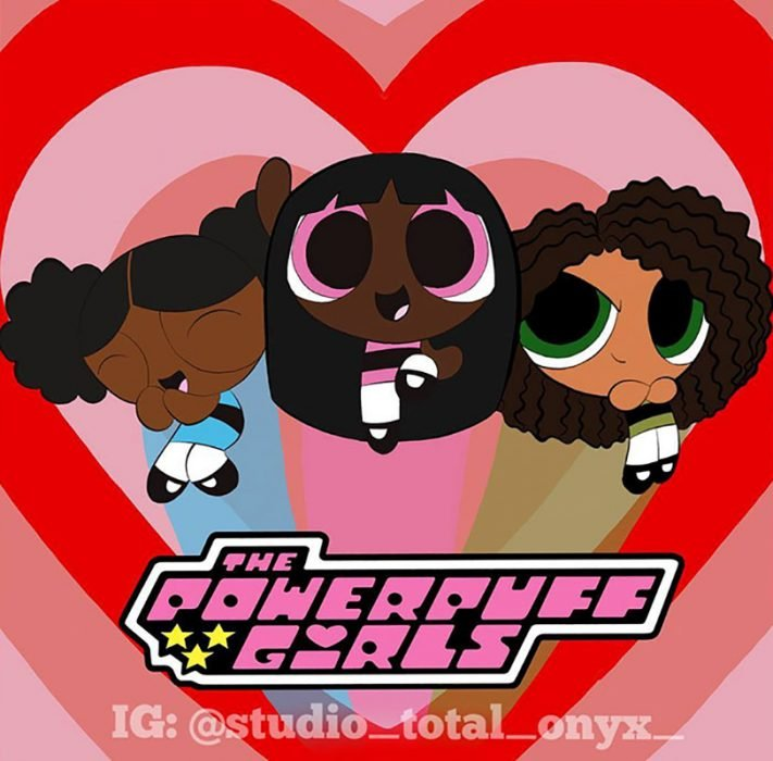 Las Chicas Superpoderosas si fueran negras