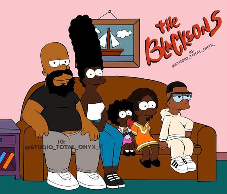 Los Simpson negros