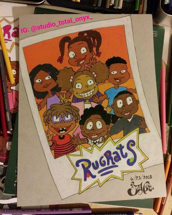 Rugrats si fueran negros