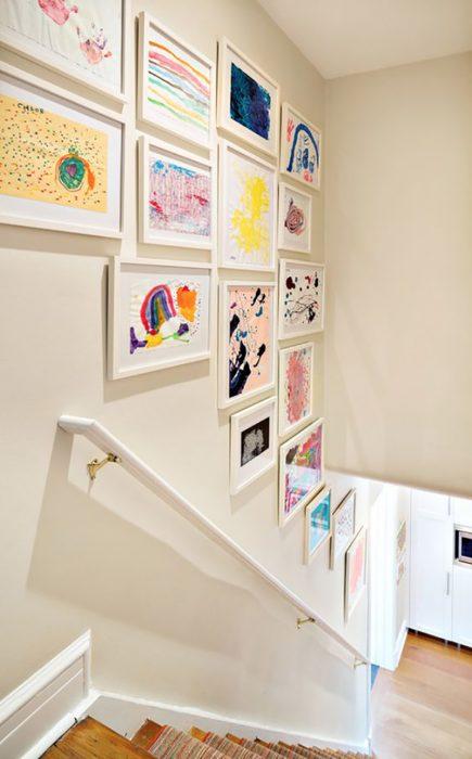 galería de arte de niño