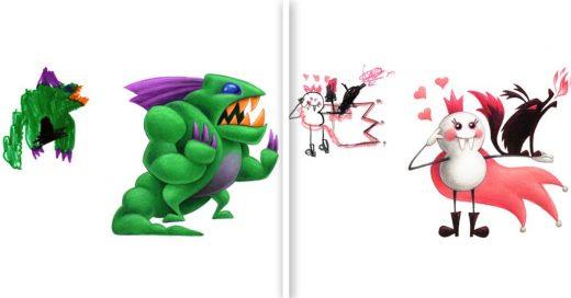 Cover Niños dibujaron monstruos y un ilustrador les dio un toque realista