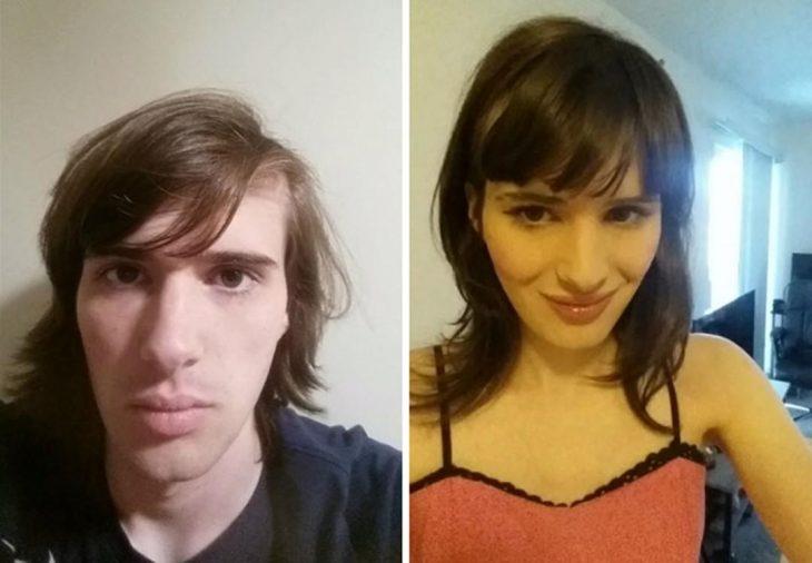 documentó su transformación