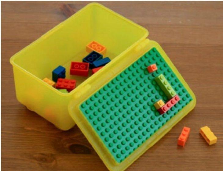 Estuche para legos