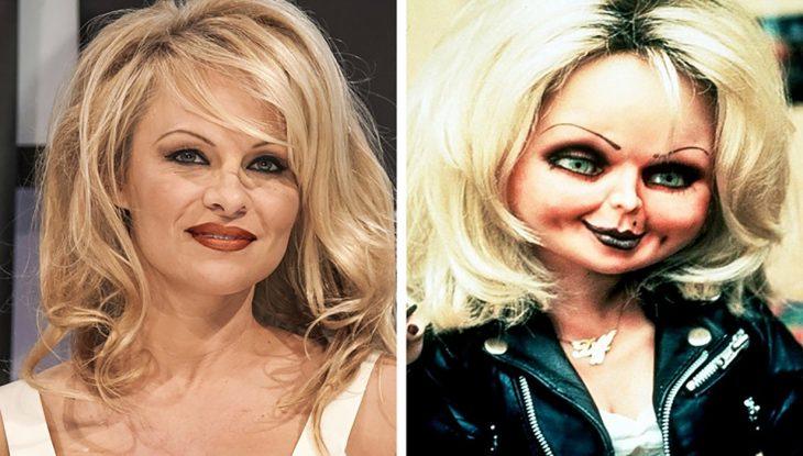 Pamela Anderson y La Novia de Chucky