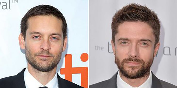 Tobey Maguire y Topher Grace