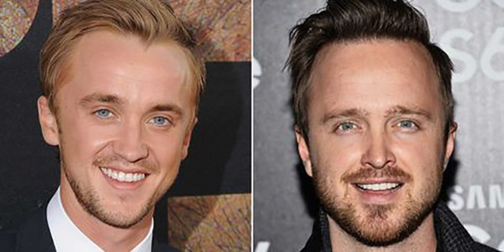 Tom Felton y Aaron Paul