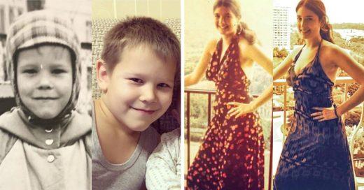 Cover Fotos de padres e hijos a la misma edad que demuestran el poder de la genética