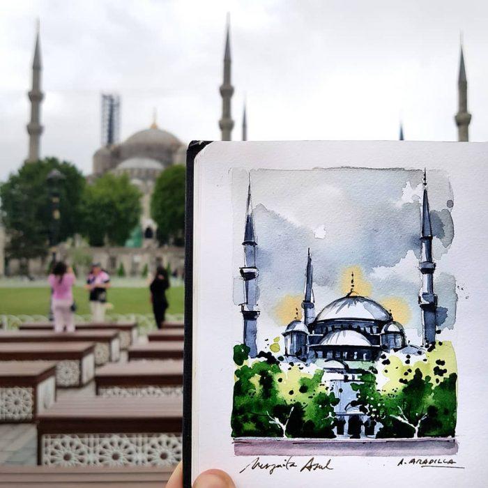 mezquita azul estambúl
