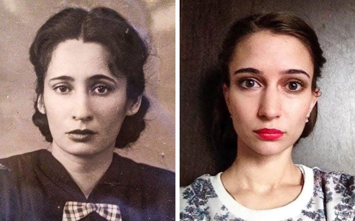abuela y nieta a la misma edad