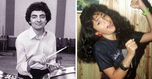 Cover Raras imágenes de famosos cuando eran adolescentes