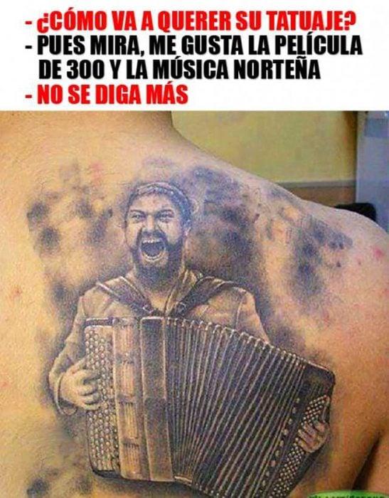 tatuaje de 300