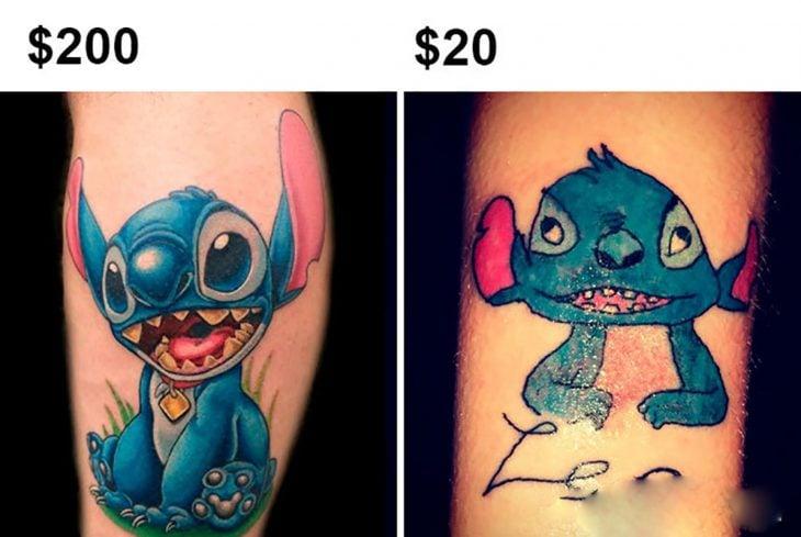 tatuaje feo de stictch