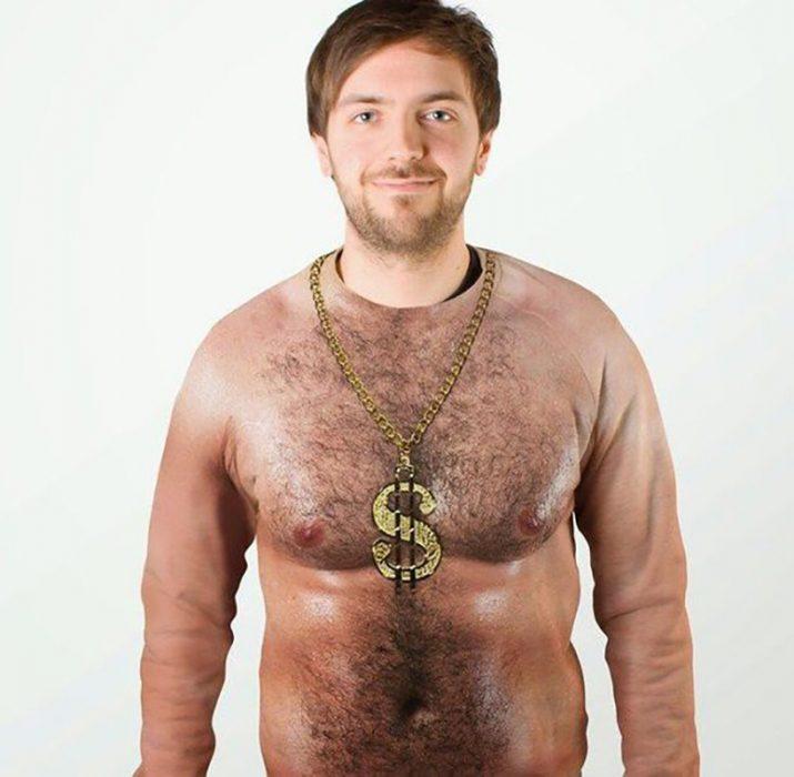 sudadera de torso de hombre