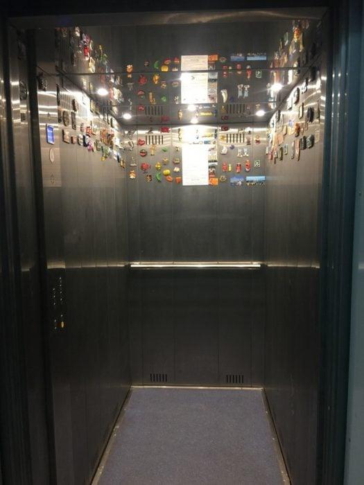 imanes en elevador