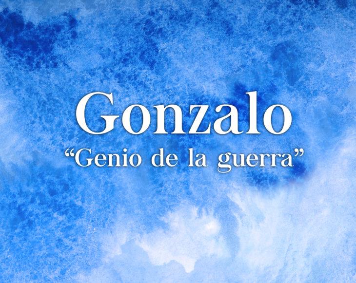 Significado nombre Gónzalo