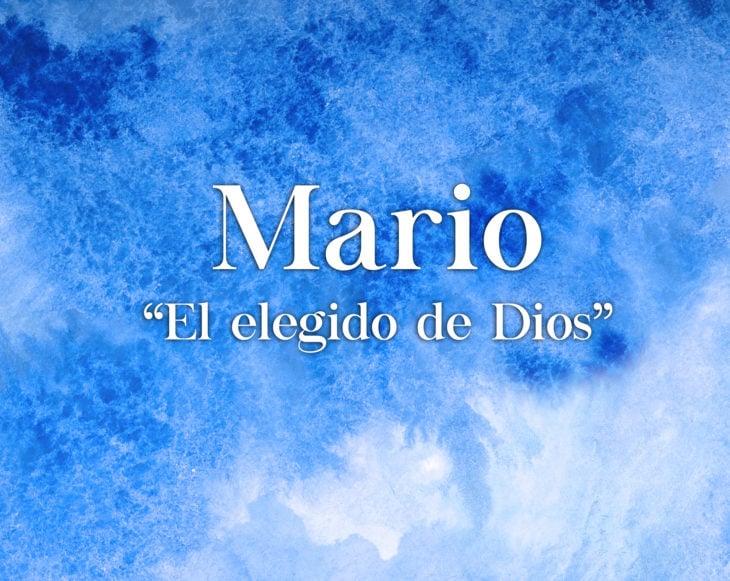 Significado nombre Mario