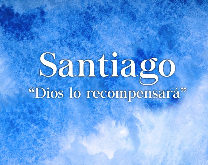 Significado nombre santiago