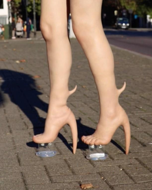 Zapatos causan repulsión