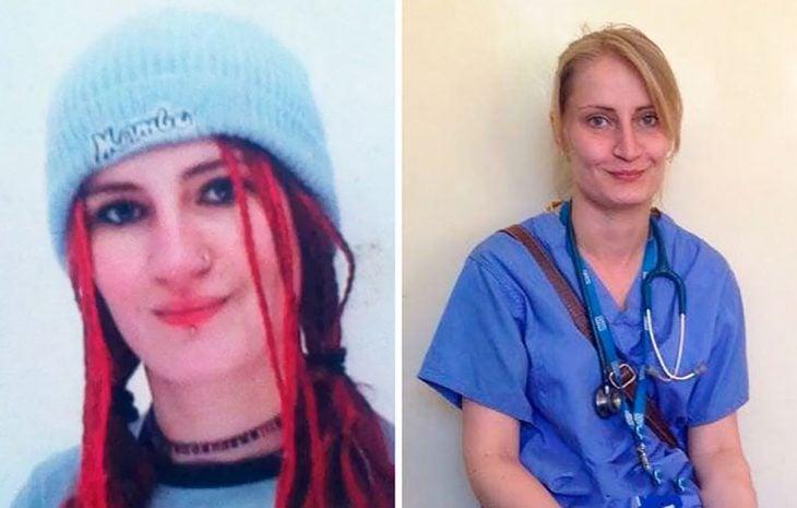 doctora antes y después
