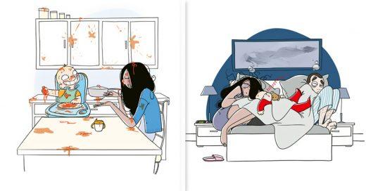 Cover Ilustraciones que tienes que ver si quieres tener hijos