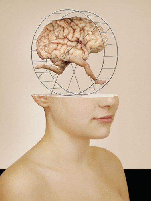 imagen de cerebro corriendo