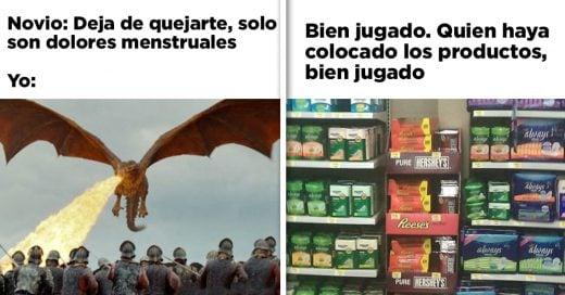 Cover Memes sobre la menstruación que son dolorosamente divertidos