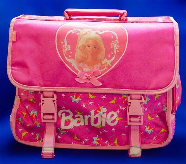 mochila de barbie