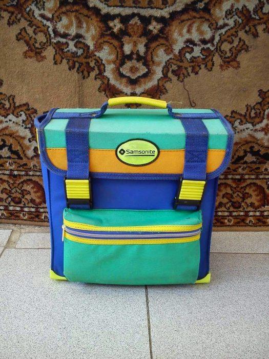 mochila retro