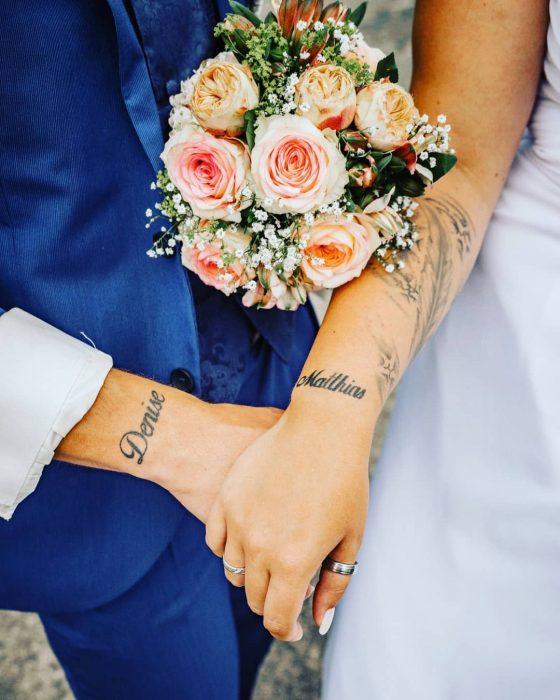 tatuajes pareja