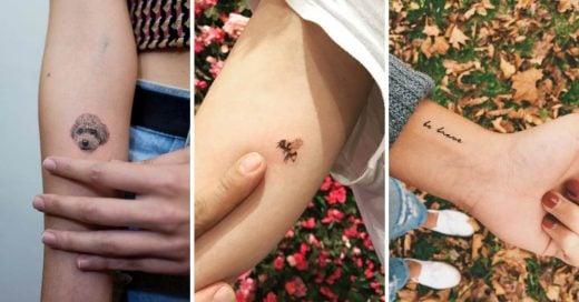 Cover Pequeños tatuajes con los que querrás adornar tu cuerpo