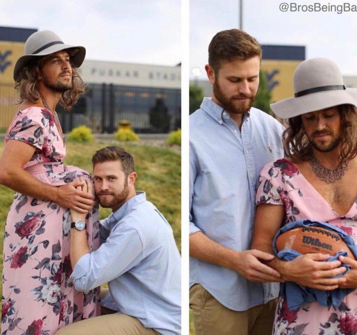 sesión de maternidad