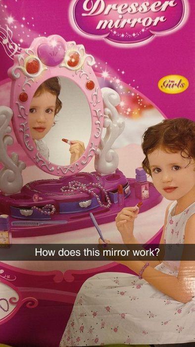 espejo poseído