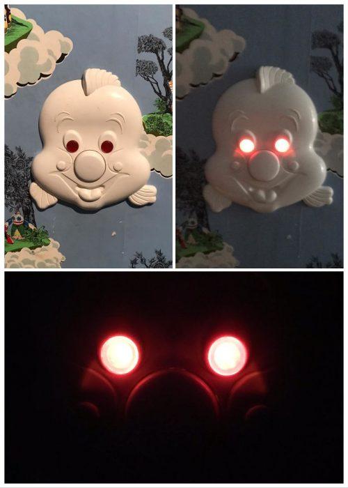 lámpara para noche de niños