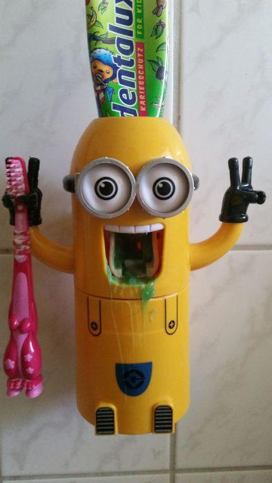 minión para dientes
