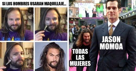 Cover Divertidos memes de Jason Momoa para enamorarte más de él