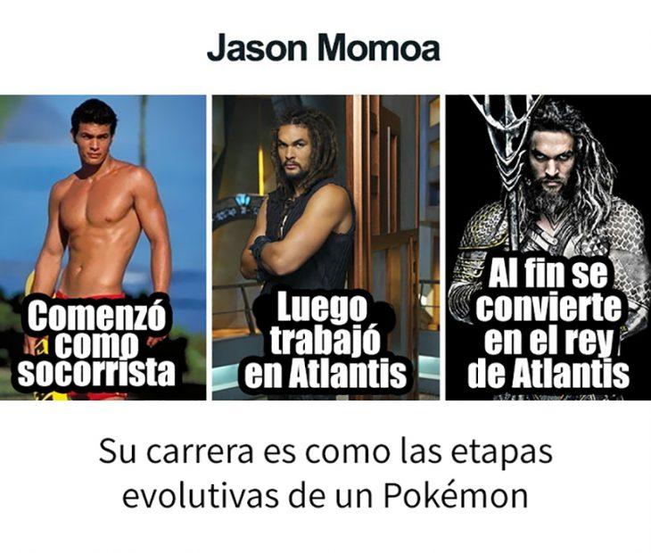 evolución de Jason Momoa