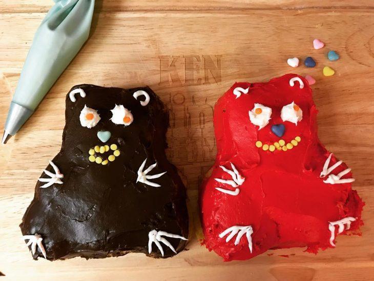 pasteles feos de osos